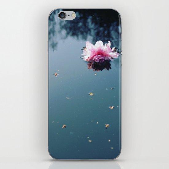 Lone Blossom iPhone & iPod Skin