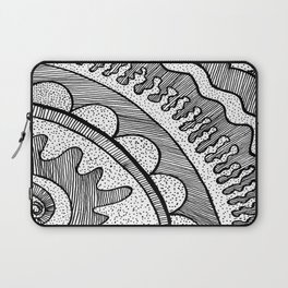 Lines & Dots Laptop Sleeve