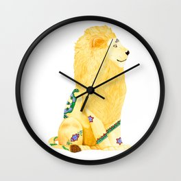 Lion Beijing Wall Clock