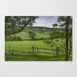 The Long Man Of Wilmington Canvas Print