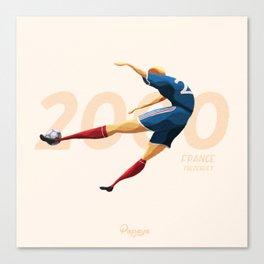 Euro History - Trezeguet 2000 Canvas Print