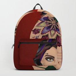 Punk Tattoo Girl Backpack