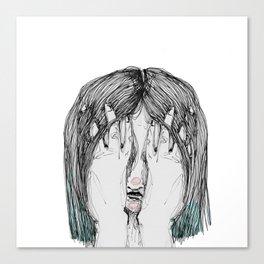 Sometimes I'm sad Canvas Print