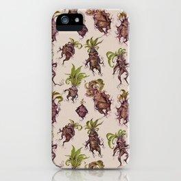 Mandrake Melodrama iPhone Case