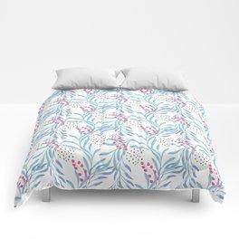 Delicate sprigs 3 Comforters