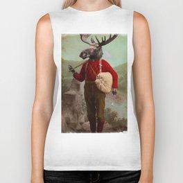 Lumberjack Marvin Moose Biker Tank