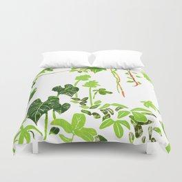 Rainforest Foliage Duvet Cover