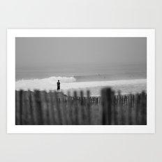 Morning. Brittany, France. Art Print