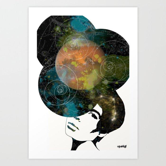 Aries (Zodiac Series 2) Art Print