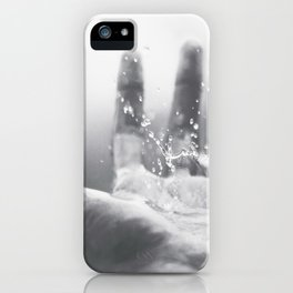 Rain Hand iPhone Case