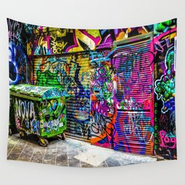 Street art Wall Tapestry