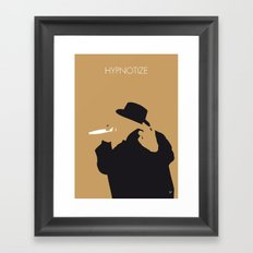 No080 MY Notorious BIG Minimal Music poster Framed Art Print