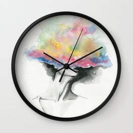 Cloud Cover Wall Clock