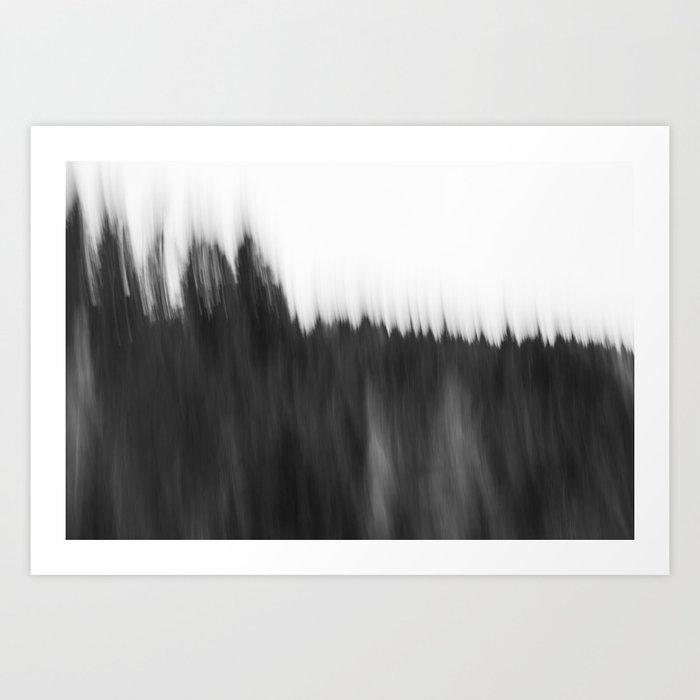Zeitgefluester NO2 Art Print