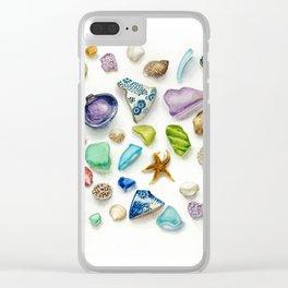 Seaside Treasures Clear iPhone Case