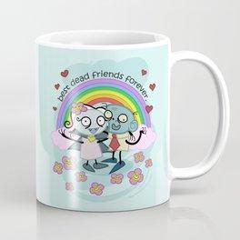 Best Dead Friends Forever - Steve the zombie & Violet the vapire Coffee Mug