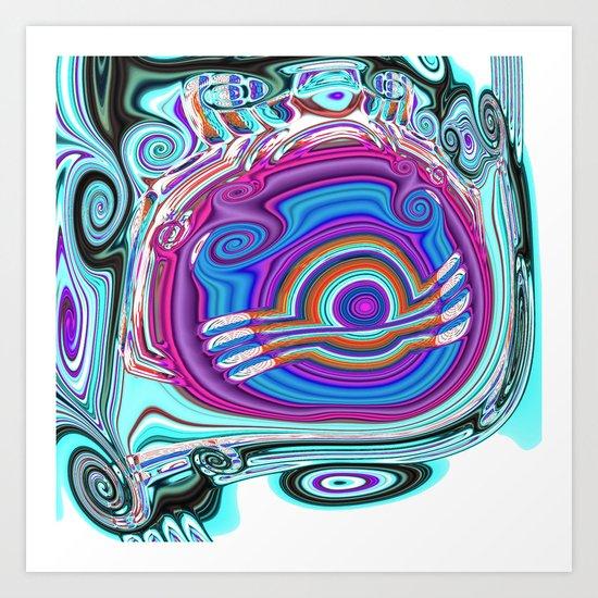 Tadpole A Art Print