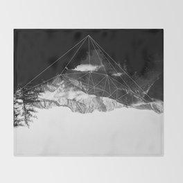 Crystal Mountain Throw Blanket