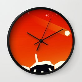 insight Space Art poster Wall Clock