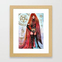 Lucifera Framed Art Print
