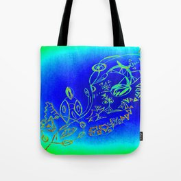 Life in the Ocean Tote Bag