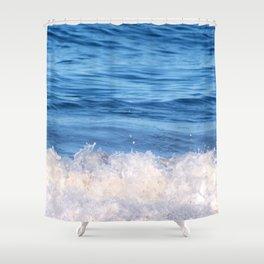 Ocean Froth Shower Curtain