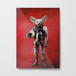Space is calling Metal Print