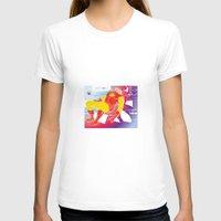 tony stark T-shirts featuring God Yes! says Tony Stark by Hoboxia
