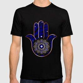 Talk to the Evil Eye Hamsa Hand T-shirt
