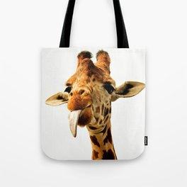 Fanny giraffe Tote Bag