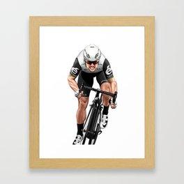 Mark Cavendish | front Framed Art Print