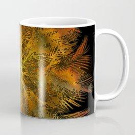The Majesty Palm Swirl (No BG) Coffee Mug