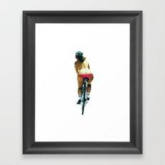 Fat Bottomed Girls Framed Art Print