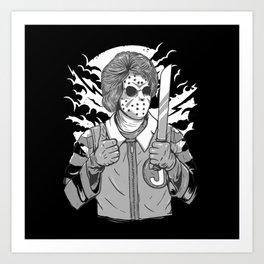 Clown Killer Art Print