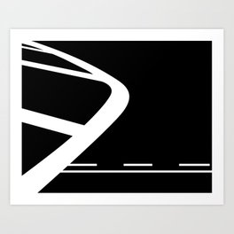 Lines: Two Art Print