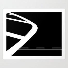 Lines: Two Art Print