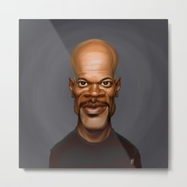Celebrity Sunday ~ Samuel L Jackson Metal Print