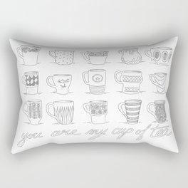 You are my cup of tea Rectangular Pillow