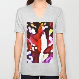 Lupin Abstract Unisex V-Neck