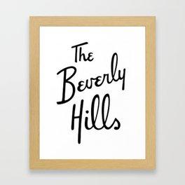 Beverly Hills Hotel  Framed Art Print