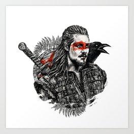 Uhtred Ragnarson Art Print
