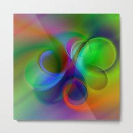 color whirl -31- Metal Print