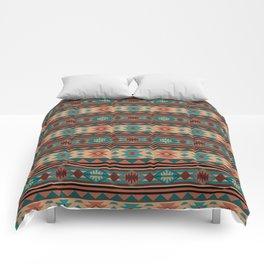 Southwest Design Turquoise Terracotta Comforters