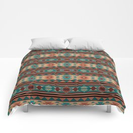 Southwest Design Turquoise Terracotta Comforters