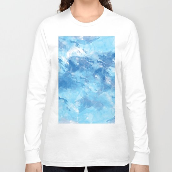 Abstract 43 Long Sleeve T-shirt