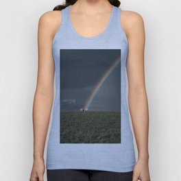 Rainbow II  - Landscape and Nature Photography Unisex Tank Top