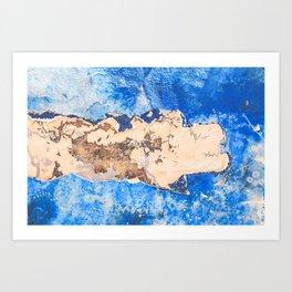 Damaged shipboard Art Print