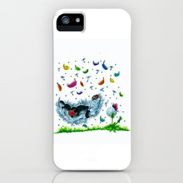 Happy Inspirations 4 loved iPhone Case
