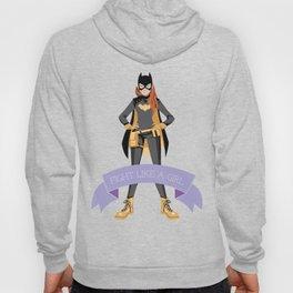 Fight Like a Girl: Batgirl Hoody