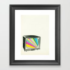 Your Programme Will Resume Shortly Framed Art Print